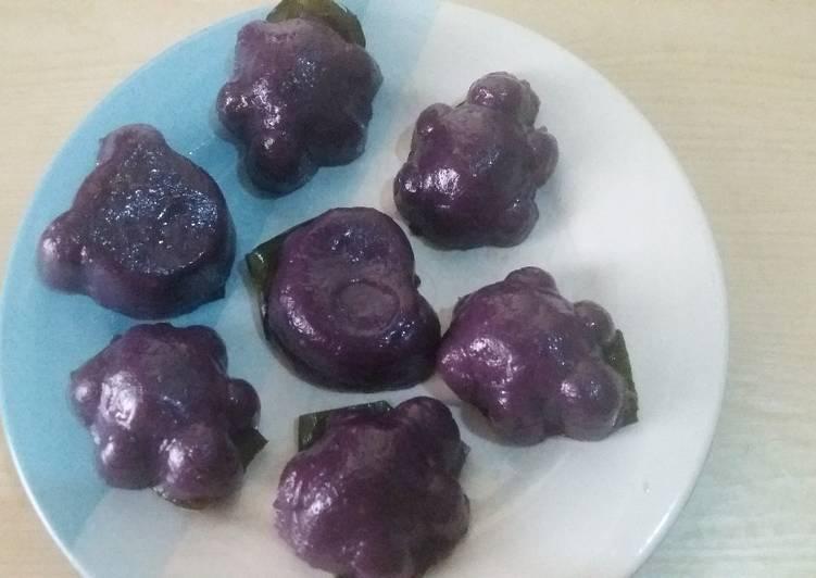 Resep Kue Ku Ubi Ungu Oleh Muhammad Adi Pratomo Cookpad