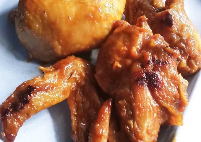 Ayam bakar saus cabai madu