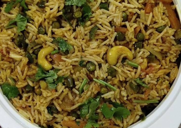 Recipe of Speedy Vegetable Biryani