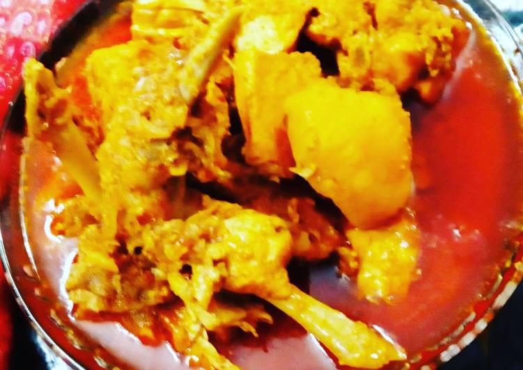 Recipe of Award-winning Assamese browler chicken curry