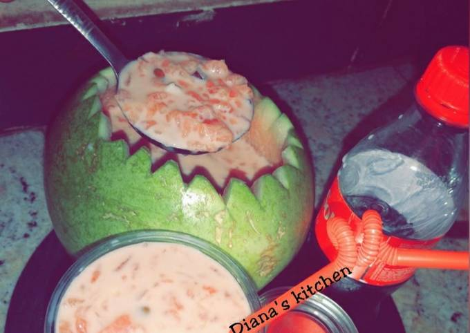 Water meloon juicer