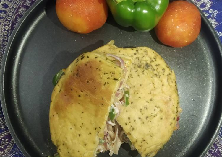 50+ Dinner Ideas Love Wheat 🌾flour fenugreek flavoured kulcha sandwich