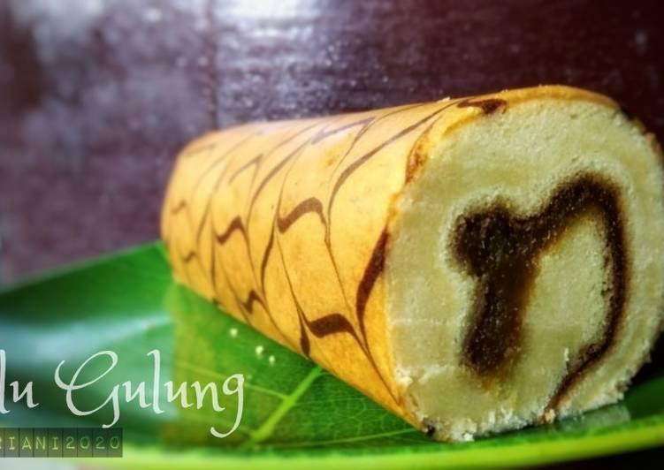 Bolu Gulung Oven Tangkring - cookandrecipe.com