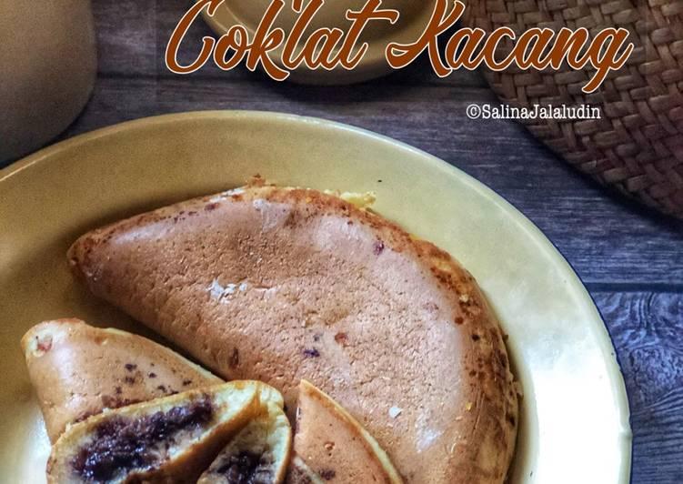 Apam Balik Coklat Kacang - resepipouler.com