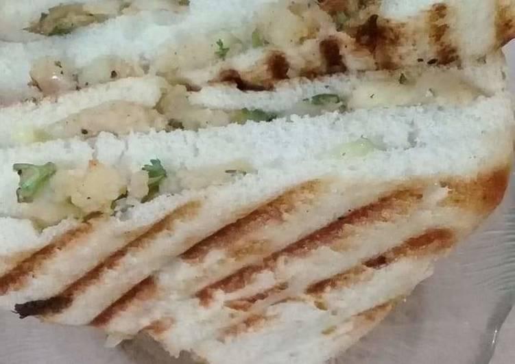 Recipe of Simple Grill Sandwich