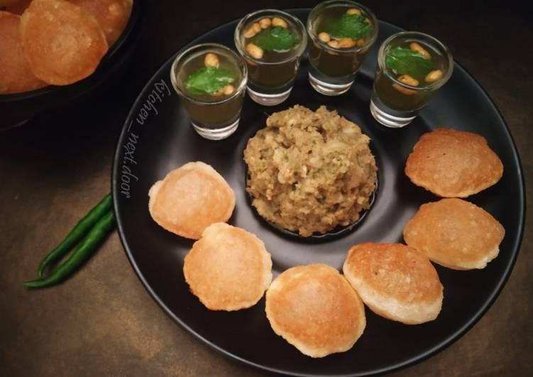 Absolutely Ultimate Dinner Easy Vegan Kolkata Style Puchka
