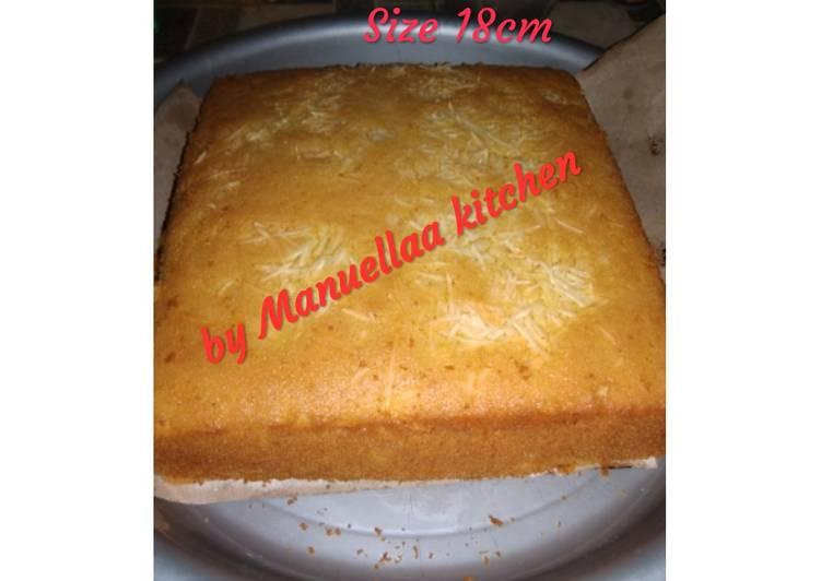Pumpkin Cake. (Kue labu)