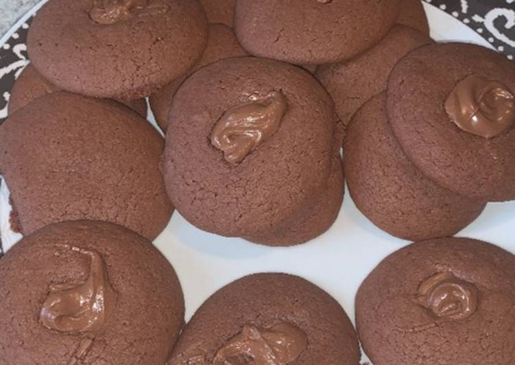 How to Make Perfect Nutella cookies