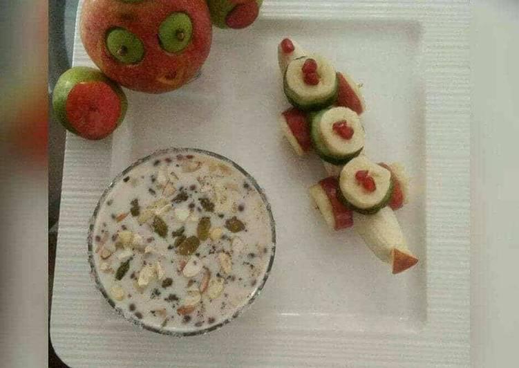 Milk & dryfruits sweet kheer