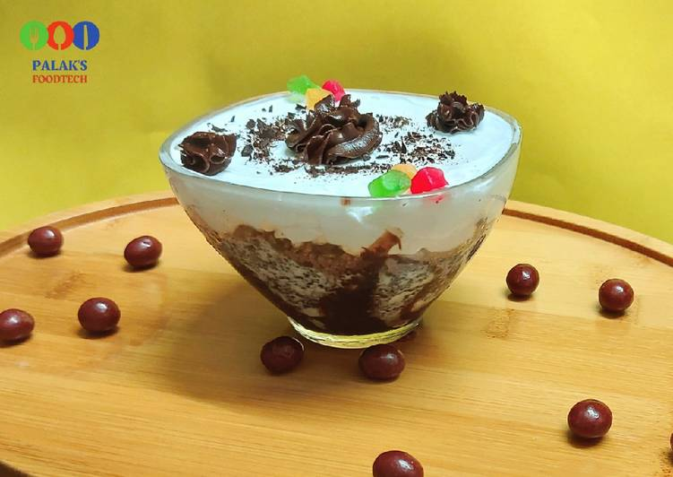 Recipe of Any-night-of-the-week Instant choco-vanilla pudding