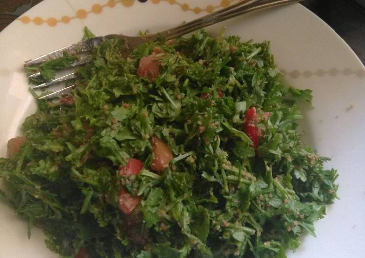 Simple Way to Prepare Most Popular Local Cress Salad