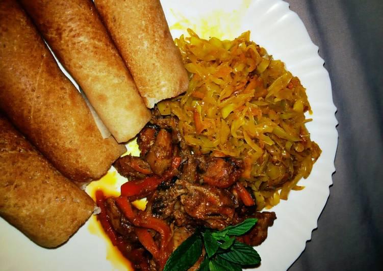 How to Make Favorite Chicken Teriyaki #localfood_Eldoret