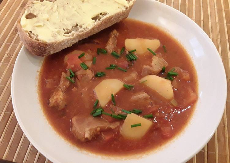 Recipe: Tasty Sig's Light Tomato and Shallot Stew