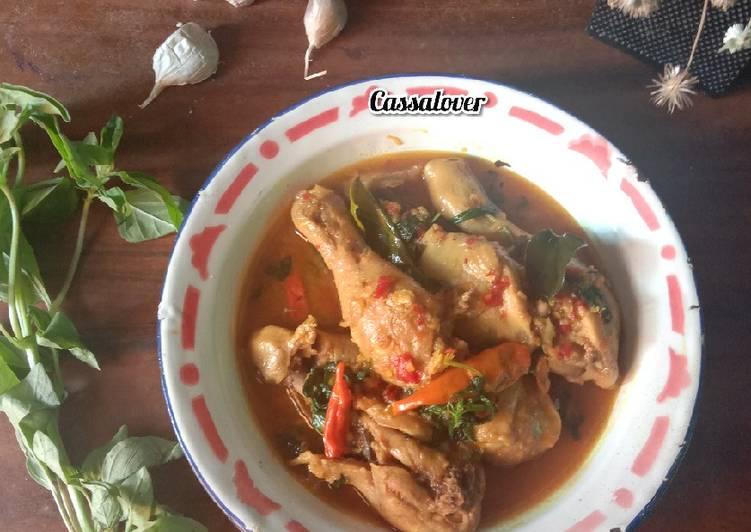 Tinorangsak (Ayam Rica- Rica Khas Manado)