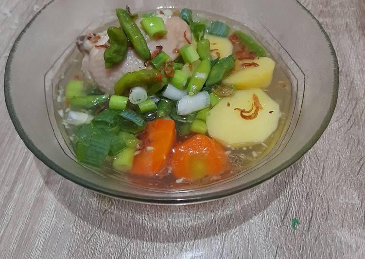"Masak gampang: ""Sop ayam Janda - Sop ayam Jawa Sunda"""