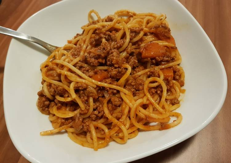 Recipe: Tasty Slow cooker spaghetti Bolognese