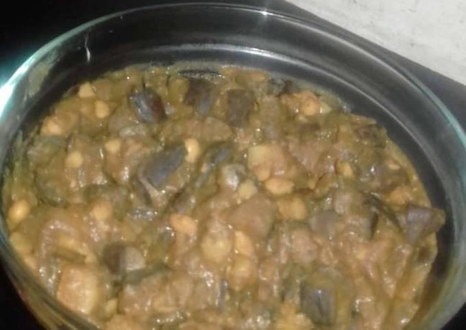 Brinjal casserole stew