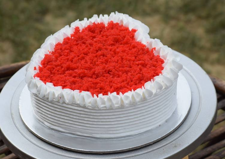 Red Velvet Cake Without Oven