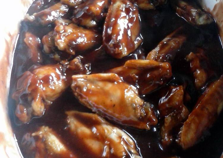 Eat Better siracha cranberry bbq wings