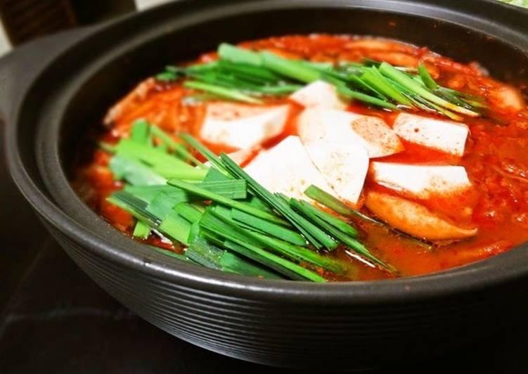 Step-by-Step Guide to Make Perfect Kimchi Hot Pot Sundubu Jjigae Style