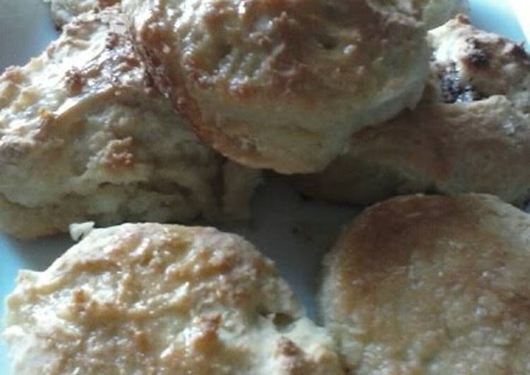Savory Ginger Garlic biscuits