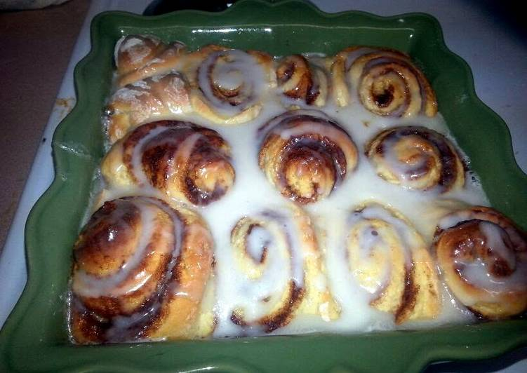 Easy Homemade Bread Machine Cinnamon Rolls Recipe