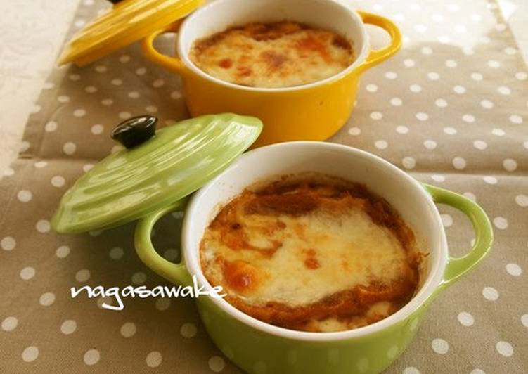 Easiest Way to Cook Yummy Quick and Easy Onion Gratin Soup