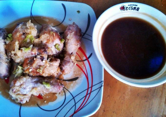 Recipe: Perfect Battered Chicken with Teriyaki Sauce