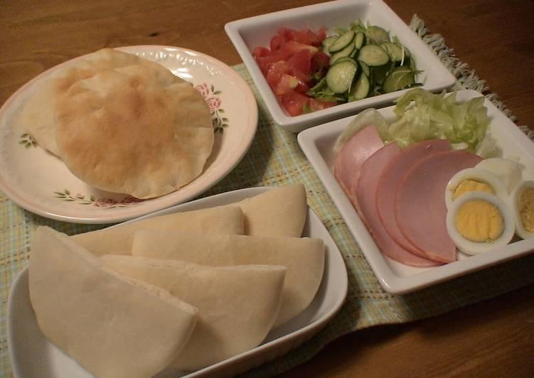 Simple Way to Make Speedy Pita Bread