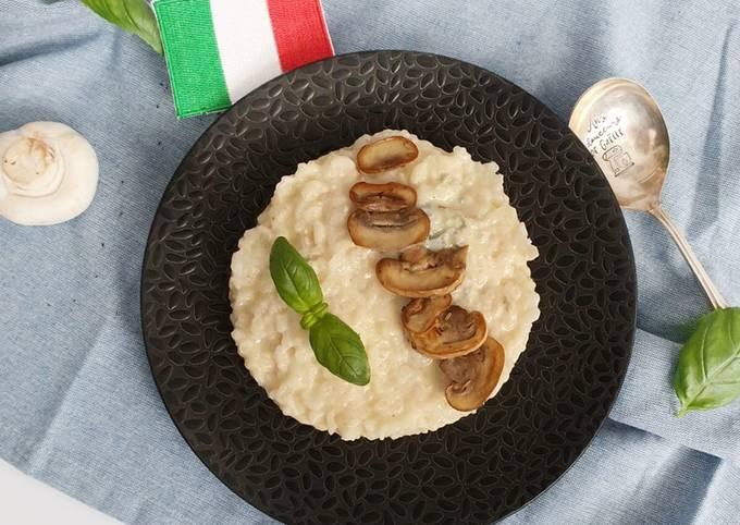 Risotto gorgonzola / champignon au MCC