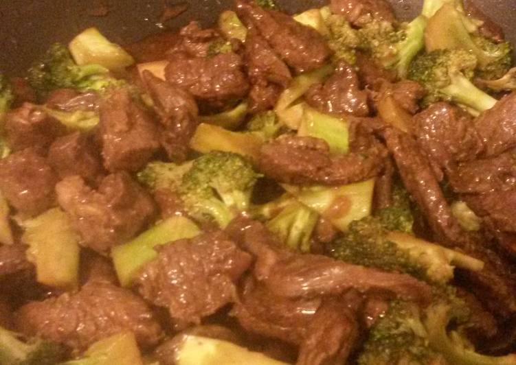 How to Make Homemade Beef with broccoli