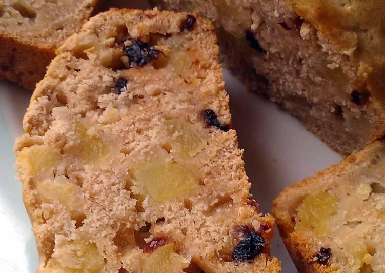 Vickys Amazake Apple Cake, GF DF EF SF NF