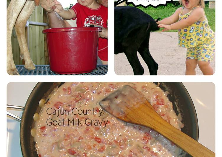 Cajun Country Goat Milk Gravy