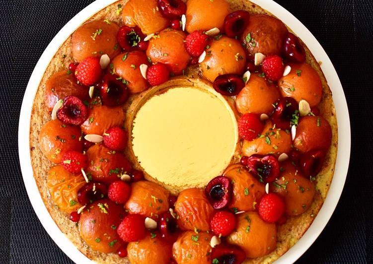 La Recette Pas à Pas Tarte aux abricots rôtis