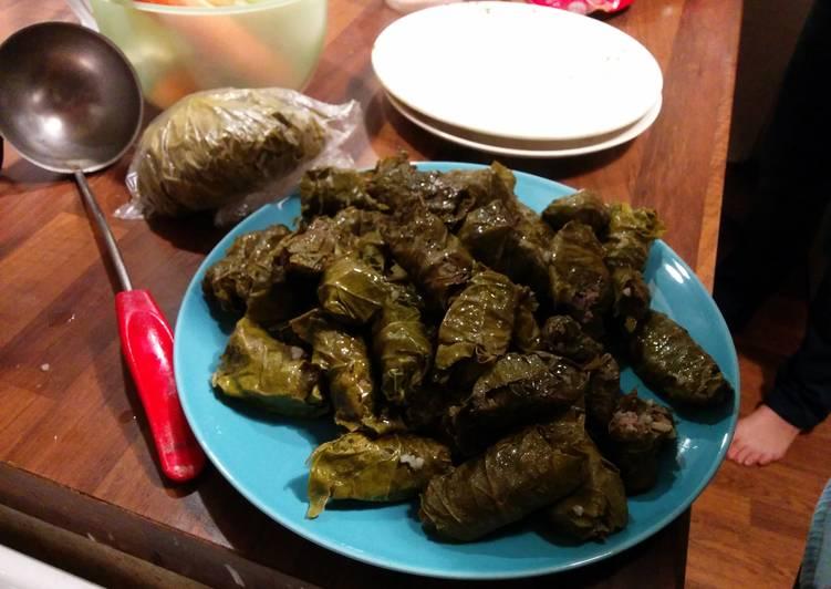 Dolma (Azerbaijan Dish)