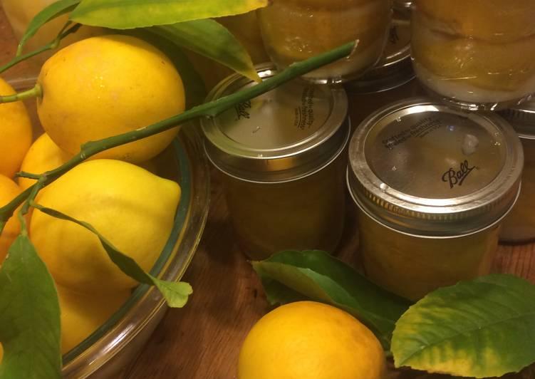 Recipe of Award-winning Preserved lemons