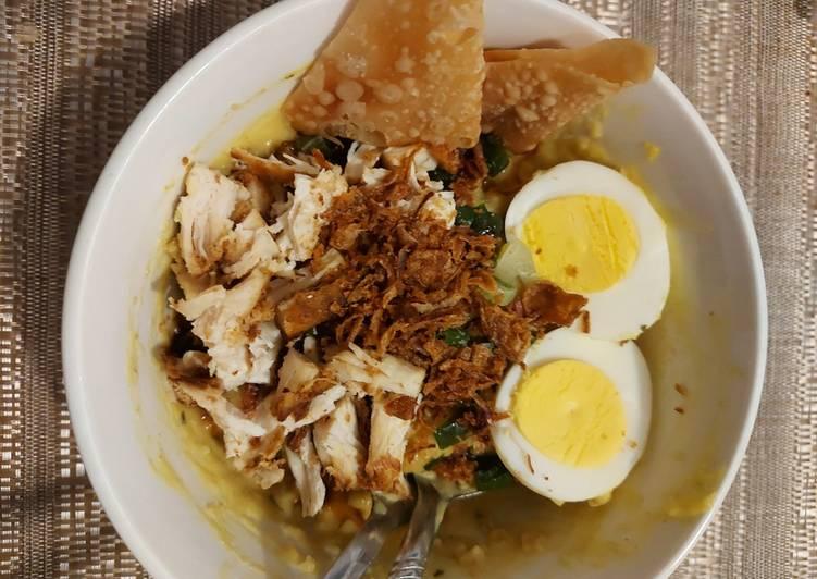 Bubur Ayam Oatmeal Praktis