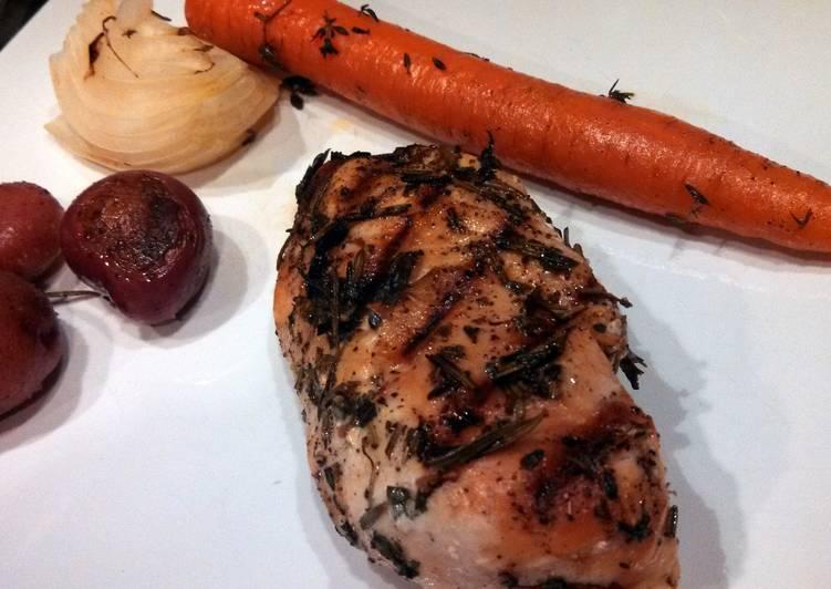 Herb Grilled Chicken Dinner
