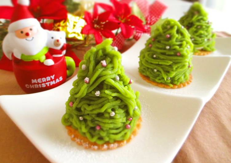 Matcha and Sweet Potato Mont Blanc Christmas Trees, Here Are A Few Simple Explanations Why Consuming Apples Is Good
