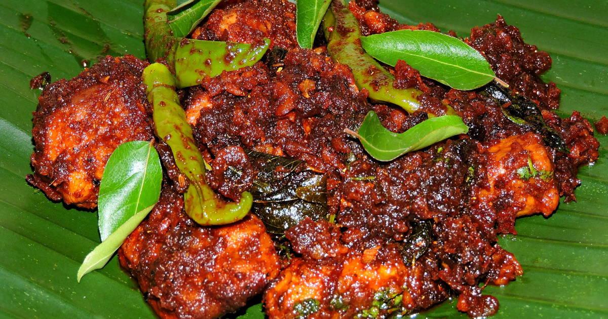 Kerala Style Chicken Roast Recipe by Tarun Alex - Cookpad