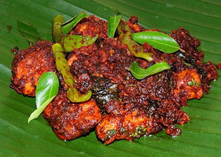 Recipe of Favorite Kerala Style Chicken Roast