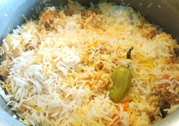 Homemade Chicken Biryani 😍