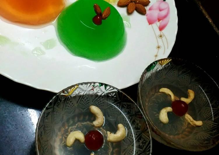 Easiest Way to Make Ultimate Tender coconut agar agar pudding
