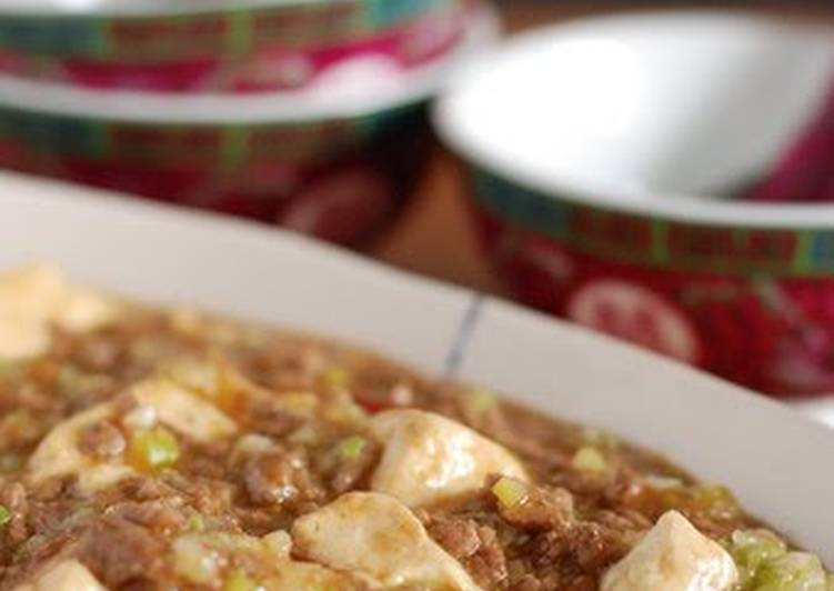 Recipe of Perfect My Mapo Tofu