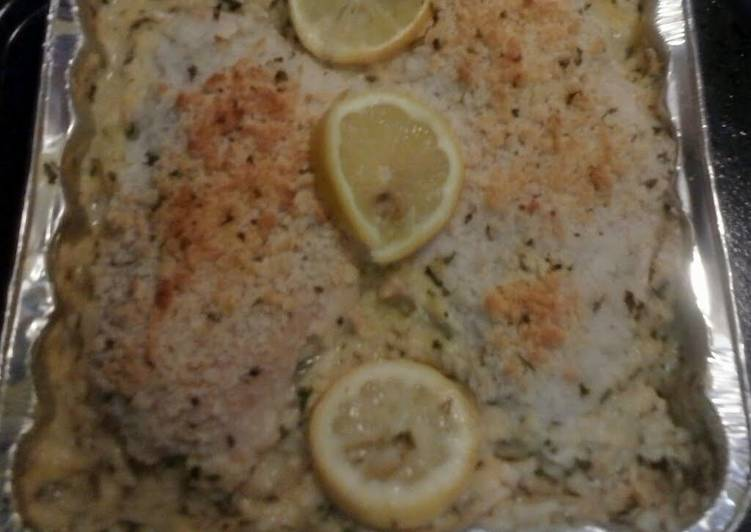 lemon chicken and herb rice