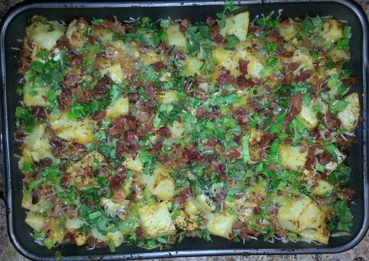 Recipe of Any-night-of-the-week Chicken Potatoes and Bacon Casserole