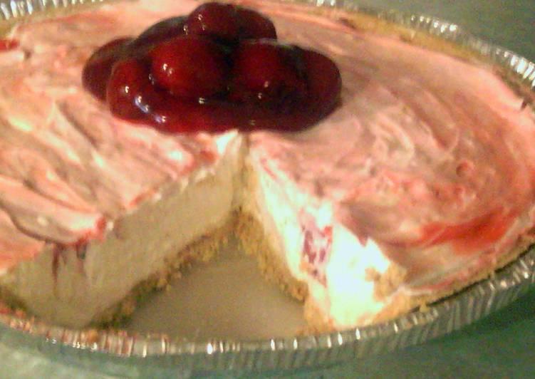 Easy cherry cream cheese pie
