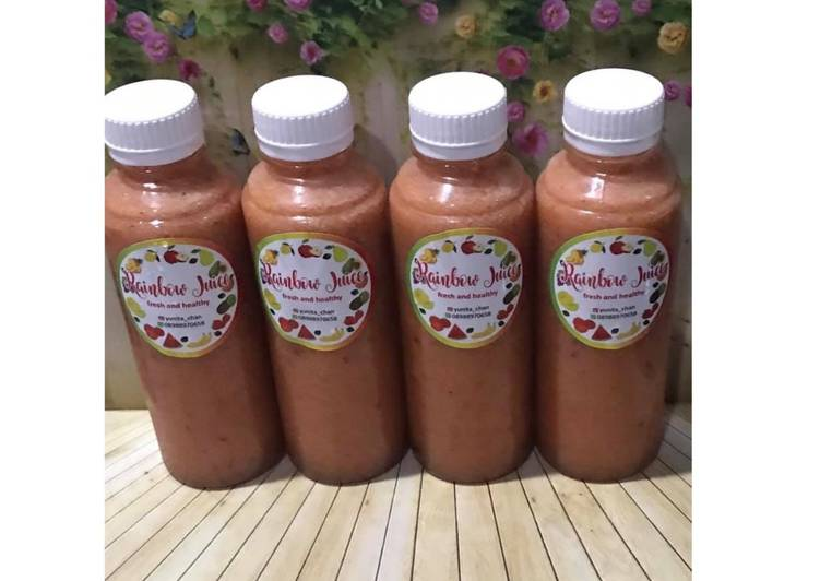 Diet Juice Melon Apple Carrot Blackberry Kiwi
