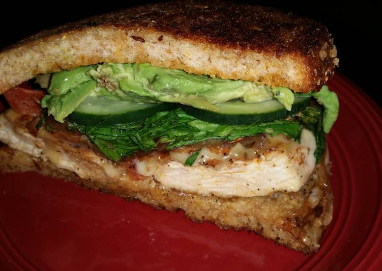 Step-by-Step Guide to Prepare Perfect Grilled Chicken and Avocado Sandwich