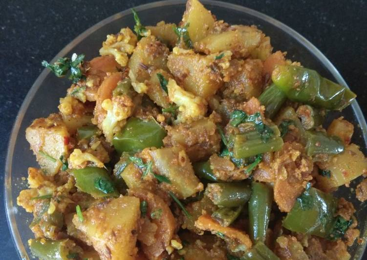 Why You Should Mix Vegetable dry sabzi